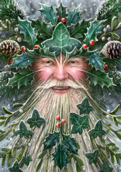 Father Yule - The Green Man