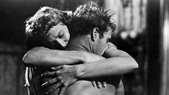 Marlon Brando and Vivian Leigh in A Streetcar Named Desire... great example of Moon connecting to Venus/Pluto!
