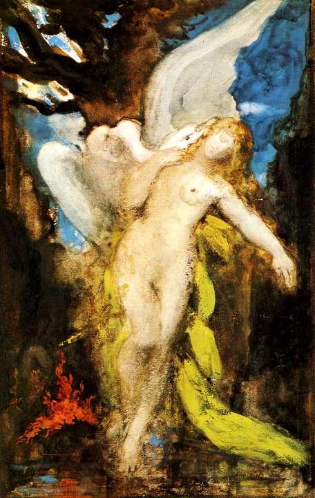 Leda by Gustave Moreau