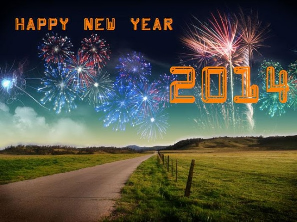Happy New Year 2014! Welcome to the path to your future!