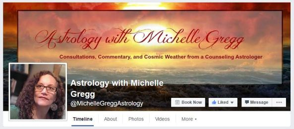 Astrology with Michelle Gregg's Facebook Page. Hope you'll follow me there!