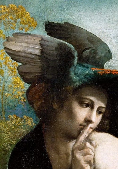 Mercury-detail-of-Jupiter-Mercury-and-Virtue-by-Dosso-Dossi-painting-1524