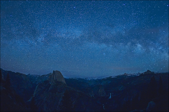 Starfield Over Yosemite High Country