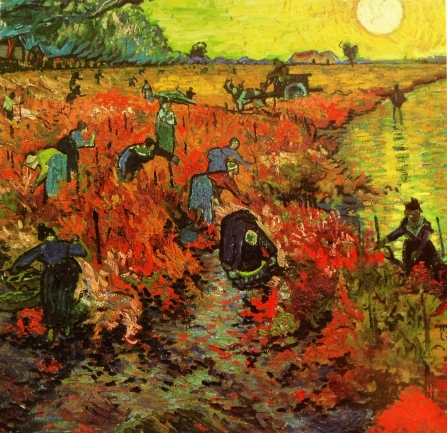 The-Red-Vinyard-at-Arles-1888-Vincent-Van-Gogh