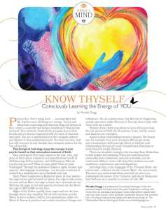 Know-Thyself-CLJ-Article-Image